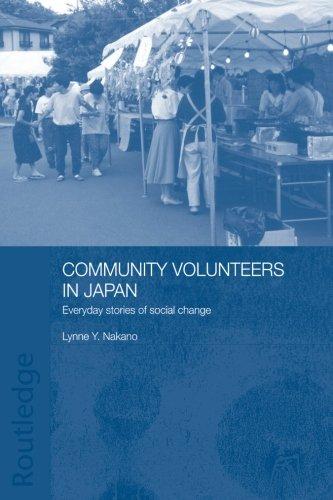 Community Volunteers in Japan: Everyday stories of social change (Japan Anthropology Workshop)