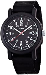 Timex Premium Originals Black Dial Mens Watch T2N364