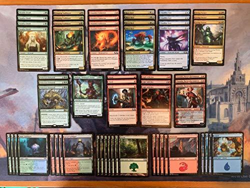 Elite Elemental Deck - Green Red Blue - Modern Legal - Custom Built - Magic The Gathering - MTG - 60 Card