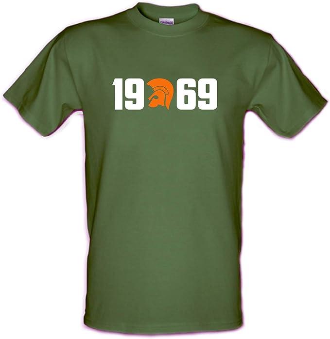 Revolutionary Tees 1969 Skinhead Ska Reggae - Camiseta de algodón pesado: Amazon.es: Ropa y accesorios
