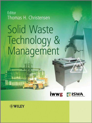 Solid Waste Technology and Management,  2 Volume Set Pdf