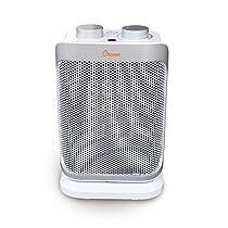 Crane Oscillating Mini Tower Heater, 10 Inch