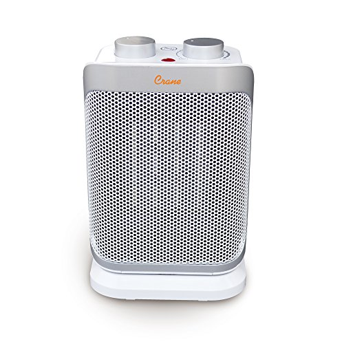 Crane Oscillating Mini Tower Heater, 10
