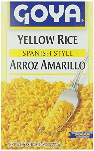 (Goya Rice Mix Yellow 8 Oz Pack of)