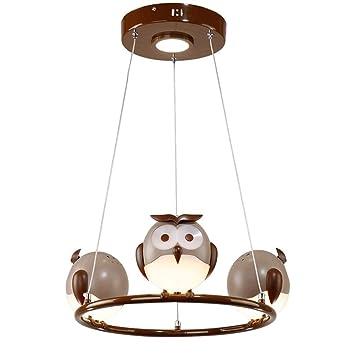 23w Led Modern Design Eule Hangeleuchte Kinderzimmer Licht