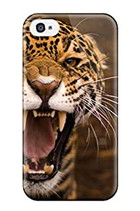 New Style Tpu 4/4s Protective Case Cover/ Iphone Case - Jaguar
