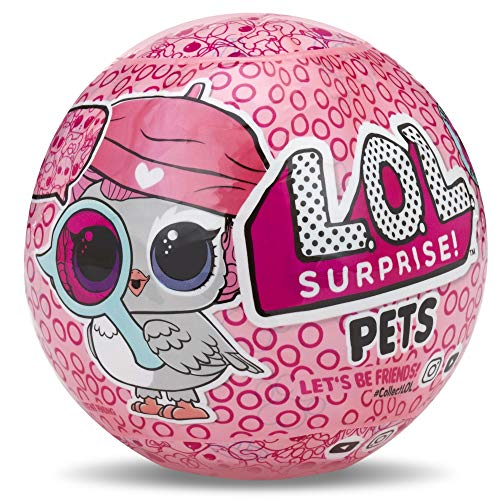 LOL Surprise – Pets Serie Espía Mascota, 7 Sorpresas (Giochi Preziosi LLU32000)