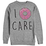 CHIN UP I Donut Care Womens Graphic Sweatshirt