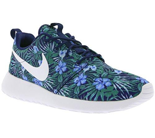 Nike Roshe One Print Prem, Scarpe Sportive Uomo Blu (Azul (Loyal Blue / White))