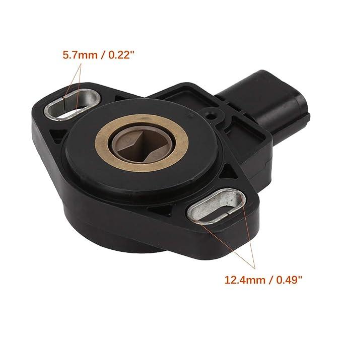 uxcell 16402-RAA-A01 TPS Throttle Position Sensor for 2003-2005 Honda CR-V Accord