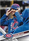 2017 Topps Update Baseball Card Kris Bryant Photo Variation Short Print! #1 Mint! Chicago Cubs