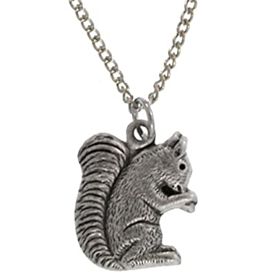 Amazon 100 nickel free squirrel pendant necklace quality made 100 nickel free squirrel pendant necklace quality made in usa in burnished aloadofball Image collections
