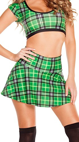 Plaid (Sexy St Patricks Day Outfit)