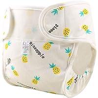 Pañal reutilizable impermeable para bebé, de algodón transpirable