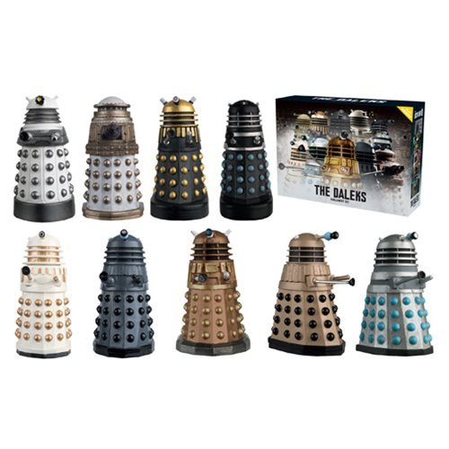 Eaglemoss Doctor Who: the Daleks Parliament Figurine Set (Dalek Action Figure)