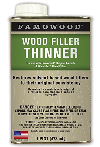 Famowood 730021 Wood Filler Thinner - Pint - Famowood Solvent