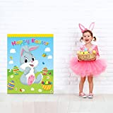 Happy Storm Easter Games for Kids Pin The Tail on