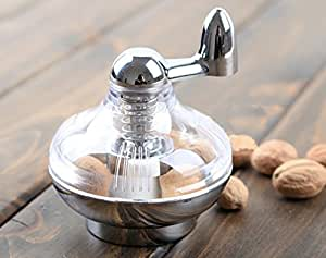 Nutmeg Grinder Rotary Manual Spice Mill Grinding Bottle by MYTANG