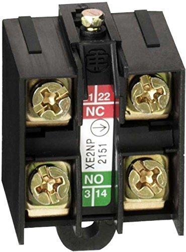 Schneider Electric XE2NP2151 Elé ments de Contacts pour Interrupteur de Position, Dé pendante, Dé calé s, 2 Pô les, 10 A, 300-500V Dépendante Décalés 2 Pôles