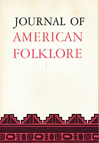 Journal of American Folklore : Fropp's Functional Analysis to a Yagua Folktale; Morphology of the
