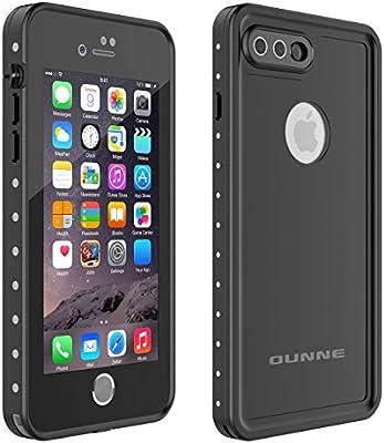 new style 003dc 986cf OUNNE iPhone 7 Plus/8 Plus Waterproof Case, Underwater Full Sealed Cover  Snowproof Shockproof Dirtproof IP68 Certified Waterproof Case for iPhone 7  ...