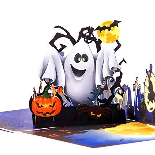 Paper Spiritz Upgrated Color Printing Pop up Halloween