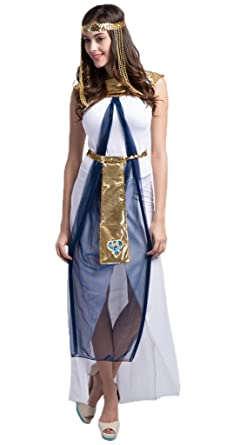 Amazon.com: Toyobuy Halloween Greek Goddess Arab Laly ...