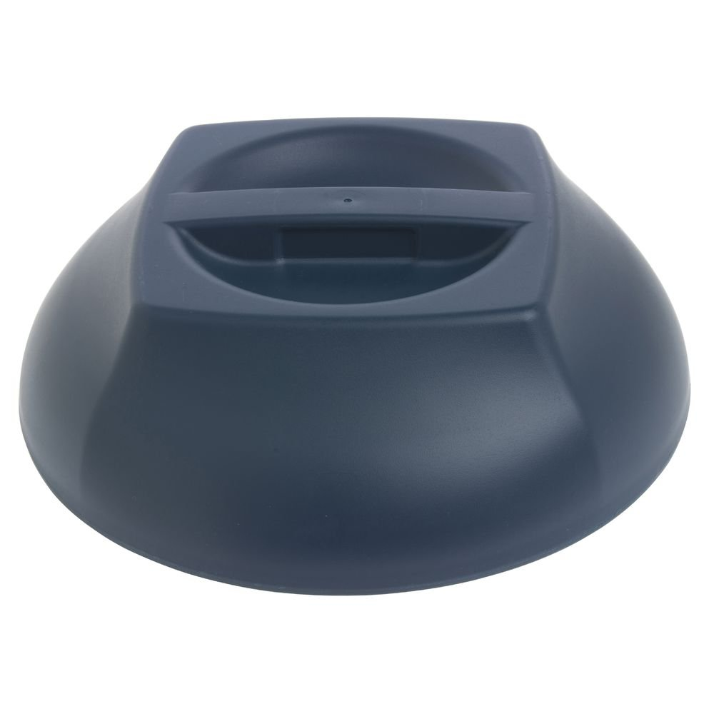 Cambro Harbor Meal Delivery System Navy Blue Polypropylene Insulated Dome Cover - 10 1/4 Dia x 3