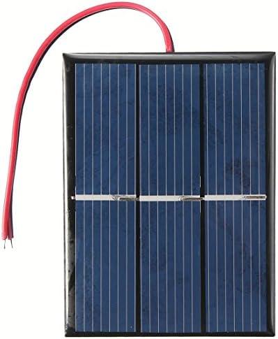 Tiamu 0.65w 1,5 V Solarpanel Schwarz