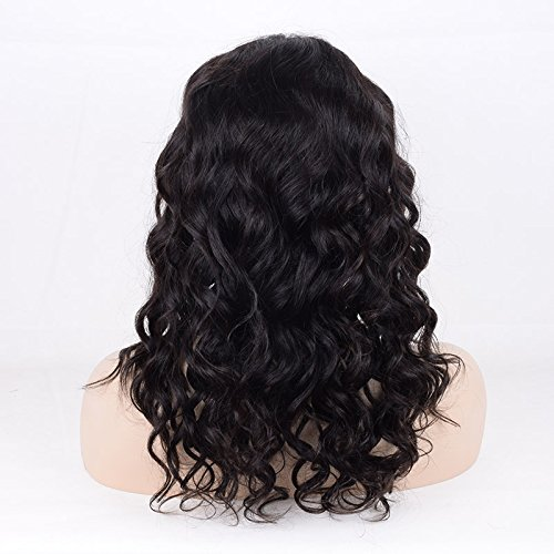 ivogue pelo humano peluca Kosher judío de encaje suave parte superior de seda virgen pelo humano Europea ninguno peluca con base de seda natural Skin parte: ...