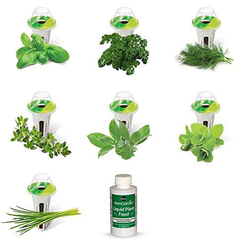 AeroGarden Gourmet Herb Seed Pod Kit 7Pod