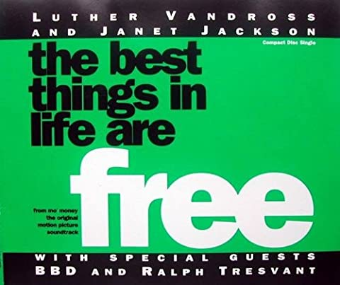 Luther Vandross And Janet Jackson - The Best Things In Life Are Free - A&M Records - 390 875-2, A&M Records - AMCD (Janet Jackson 12)