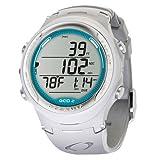 Oceanic GEO 2.0 Scuba Dive Computer Wrist Watch W/O USB (White / Teal)