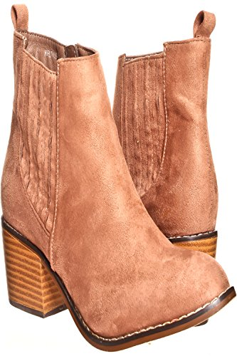 Lolli Couture Jp Originele Suede Materiaal Velcro Bandjes Goud Accent Casual Wedge Sneakers Taupe-kflt03