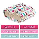 Benjamin Button - Arm Nursing, Breastfeeding Pillow and Positioner | Organic, Natural, Ergonomic Back Support Shape