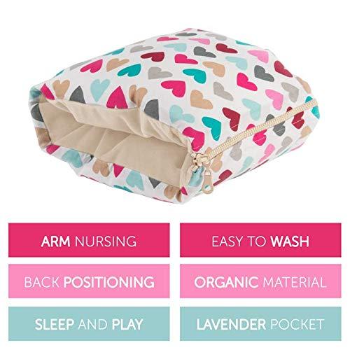 Benjamin Button - Arm Nursing, Breastfeeding Pillow and Positioner | Organic, Natural, Ergonomic Back Support Shape by Benjamin Button