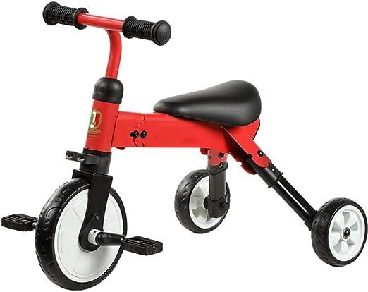 Bicicletas para Niños Pequeños Bebé Triciclo Plegable Scooter ...