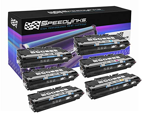 Hp Q2682a Replacement - Speedy Inks Remanufactured Toner Cartridge Replacement for HP 308A/311A (3 Black, 1 Cyan, 1 Magenta, 1 Yellow, 6-Pack)