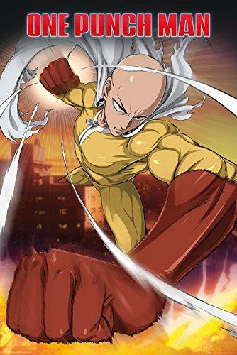 GYE One Punch Man Poster Pack Saitama 61 x 91 cm  Posters Wa