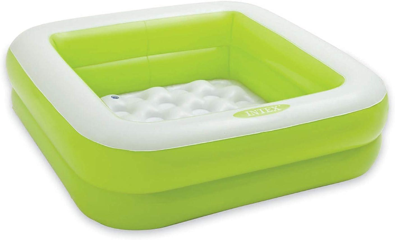 INTEX 57100NP Piscina hinchable para niños - Color: verde: Amazon ...