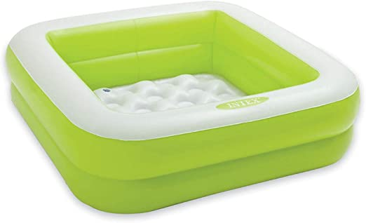 INTEX 57100NP Piscina hinchable para niños - Color: verde: Amazon ...
