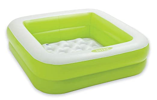 INTEX 57100NP Piscina hinchable para niños - Color: verde