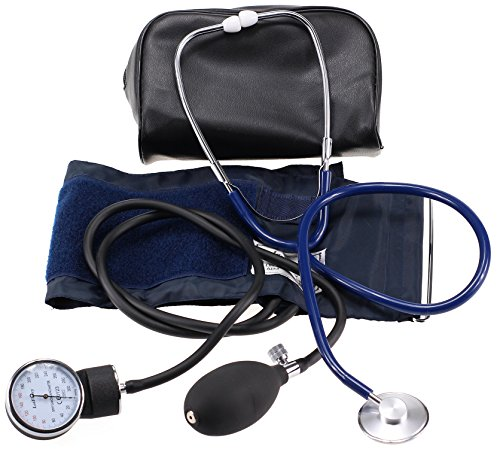LotFancy Pressure Sphygmomanometer Stethoscope Approved