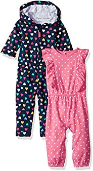 Carter's Baby-Girls 2-Pack One Piece Romper Jump