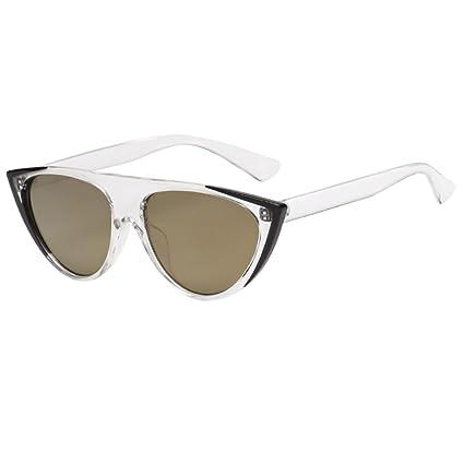 Btruely Herren_Gafas de Sol Hombre Super Cat Eye Triangle Gafas de ...