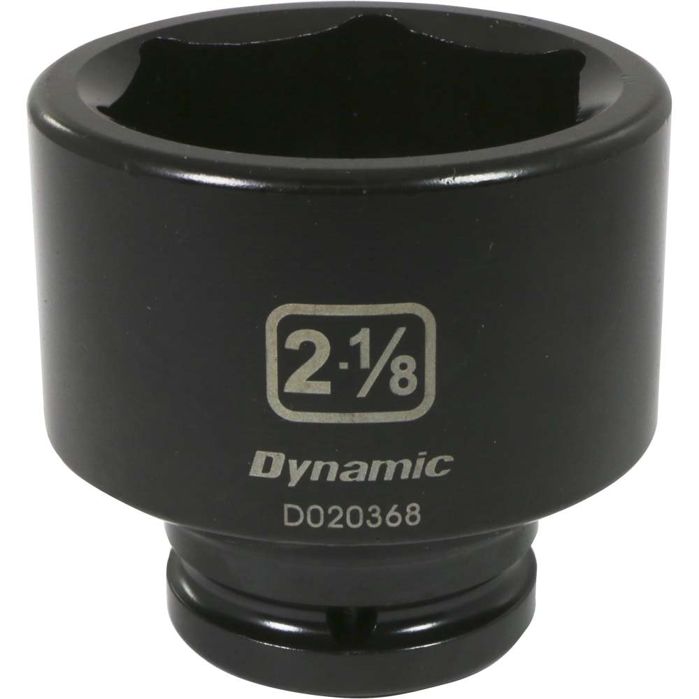 Dynamic Tools 3/4-Inch Drive 6 Point SAE, 1-5/16-Inch Standard Length, Impact Socket