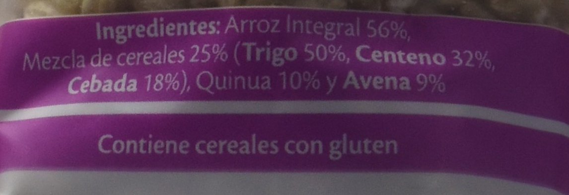 SOS Arroz Integral Con Quinoa + 4 Cereales - 500 g: Amazon.es: Amazon Pantry