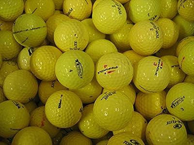Yellow Premium Brands Pink Good 12 Golf Balls