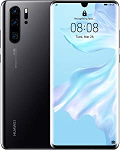 Huawei P30 Pro 8 GB RAM + 128 GB, Stunning 6.47 Inch OLED Display, Android.TM 9.0 Pie, EMUI 9.1.0 Sim-Free Smartphone, Dual SIM VOG-L29 - International Version/No Warranty (Midnight Black)
