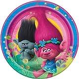 Trolls Dessert Plates, 8ct